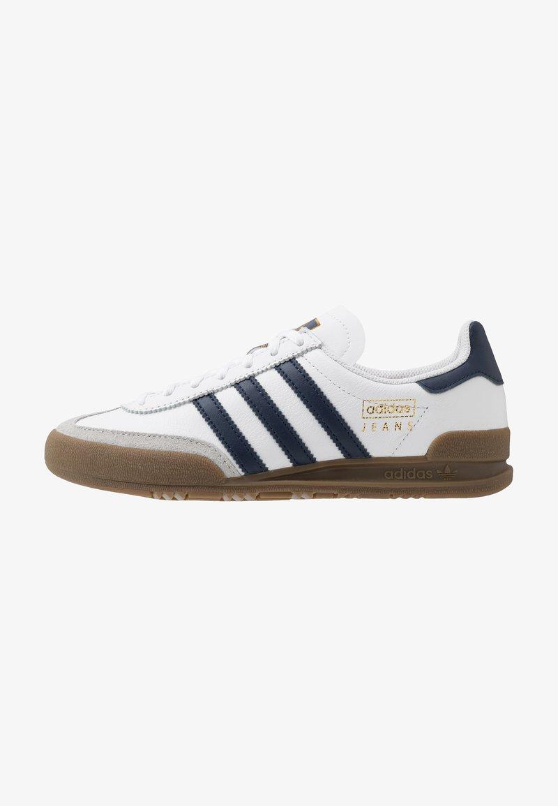 adidas Originals - JEANS UNISEX - Trainers - footwear white/collegiate navy