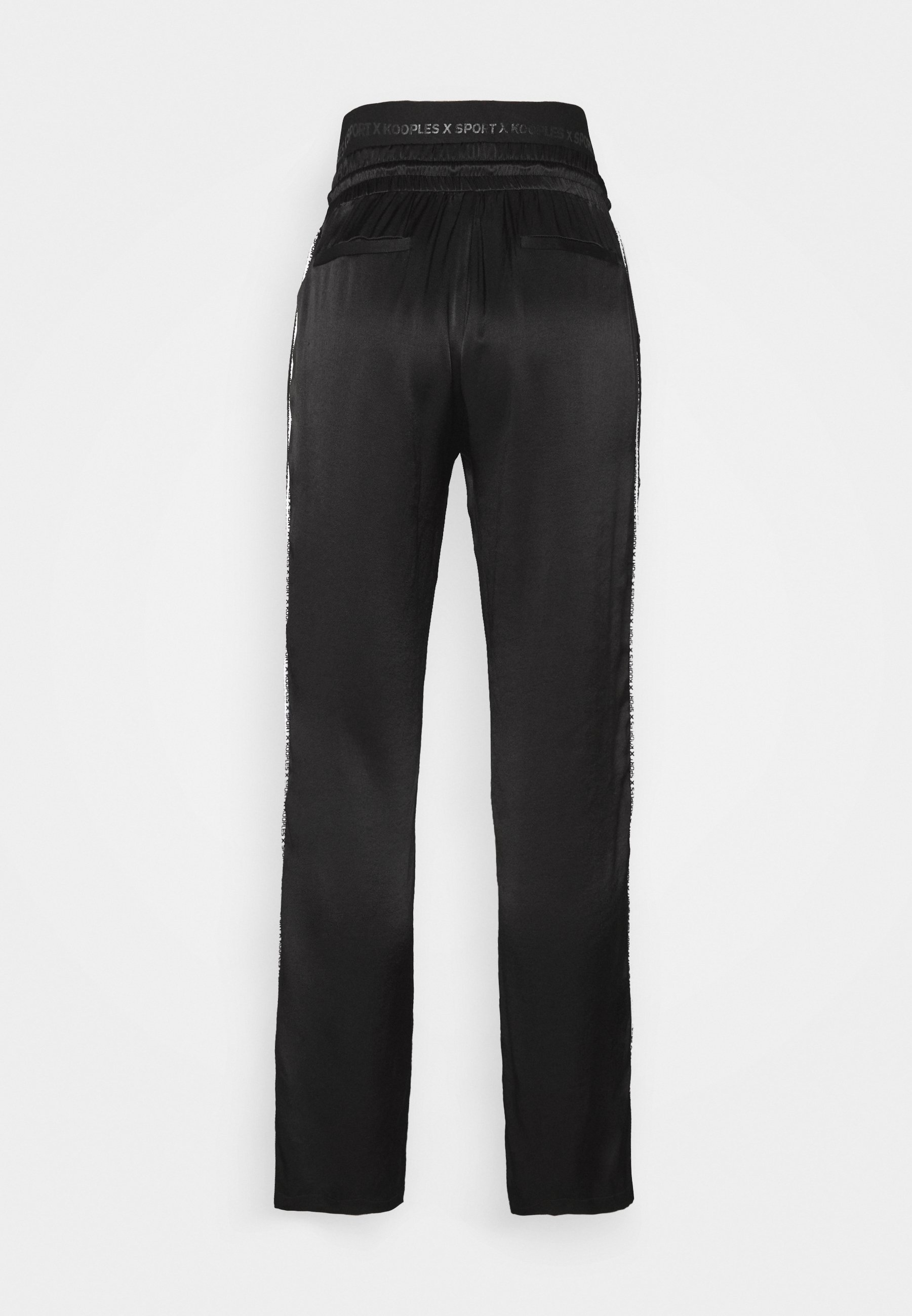 The Kooples Pantalon de survêtement - black EUGjFUnD