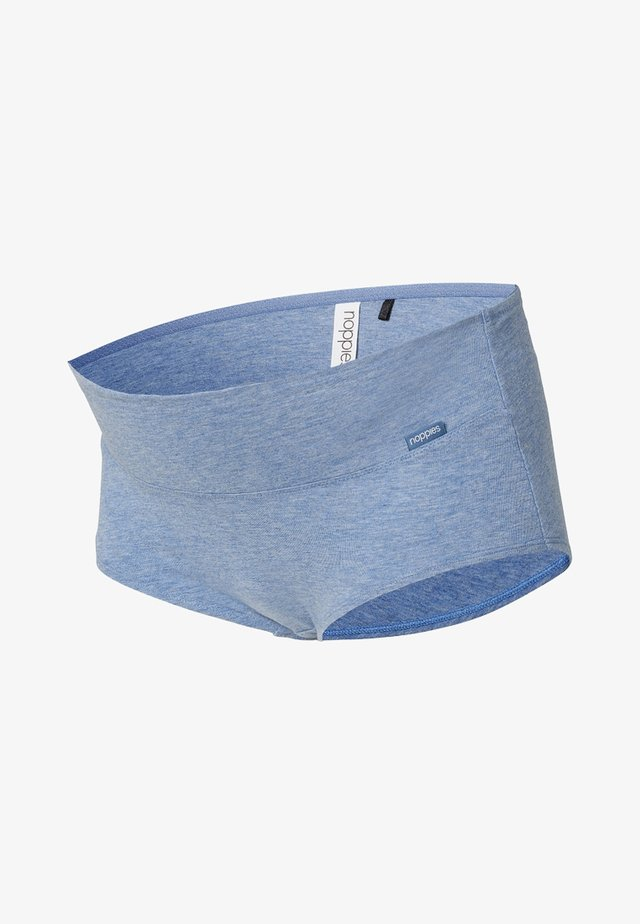 Panty - blue melange