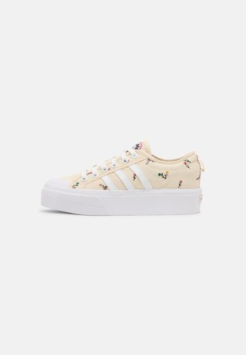 NIZZA PLATFORM  - Sneakers basse - white/rose tone