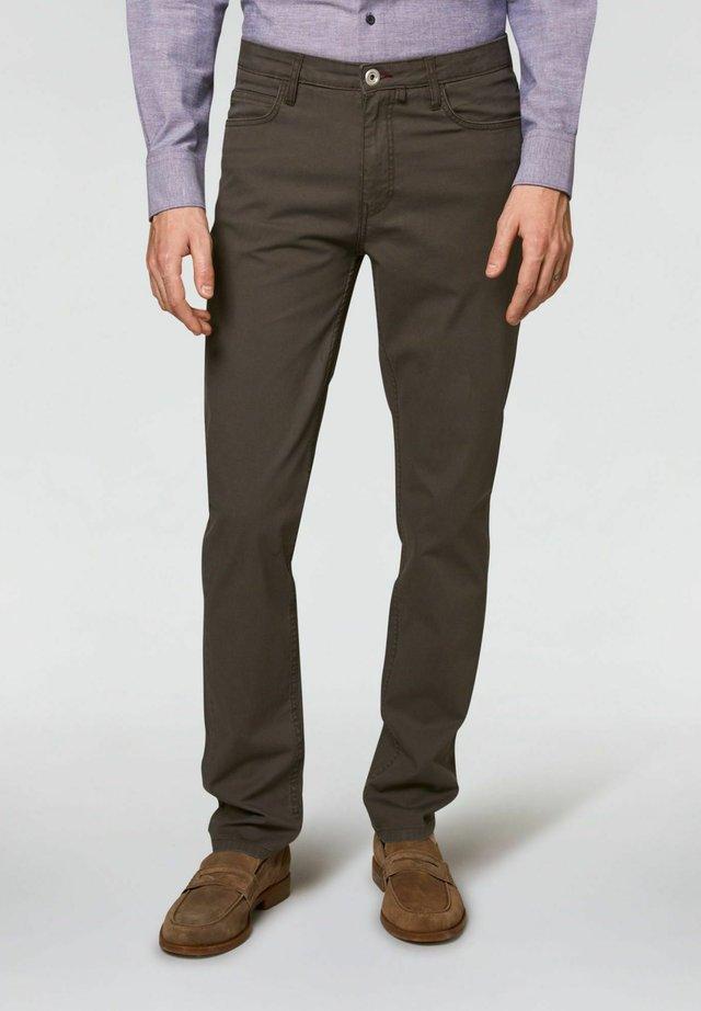 TAILORED FIT - Pantaloni - grigio scuro