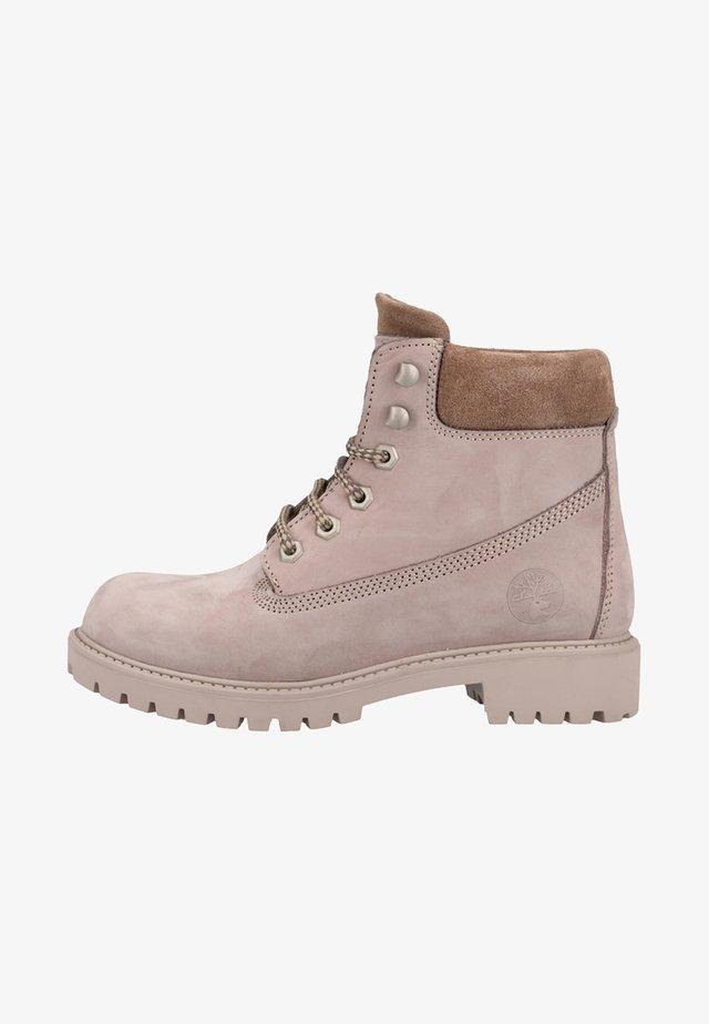 Platform ankle boots - mink