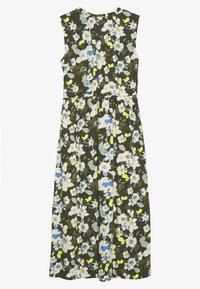 TOM TAILOR - DRESS PRINTED - Maxi šaty - khaki design green - 1