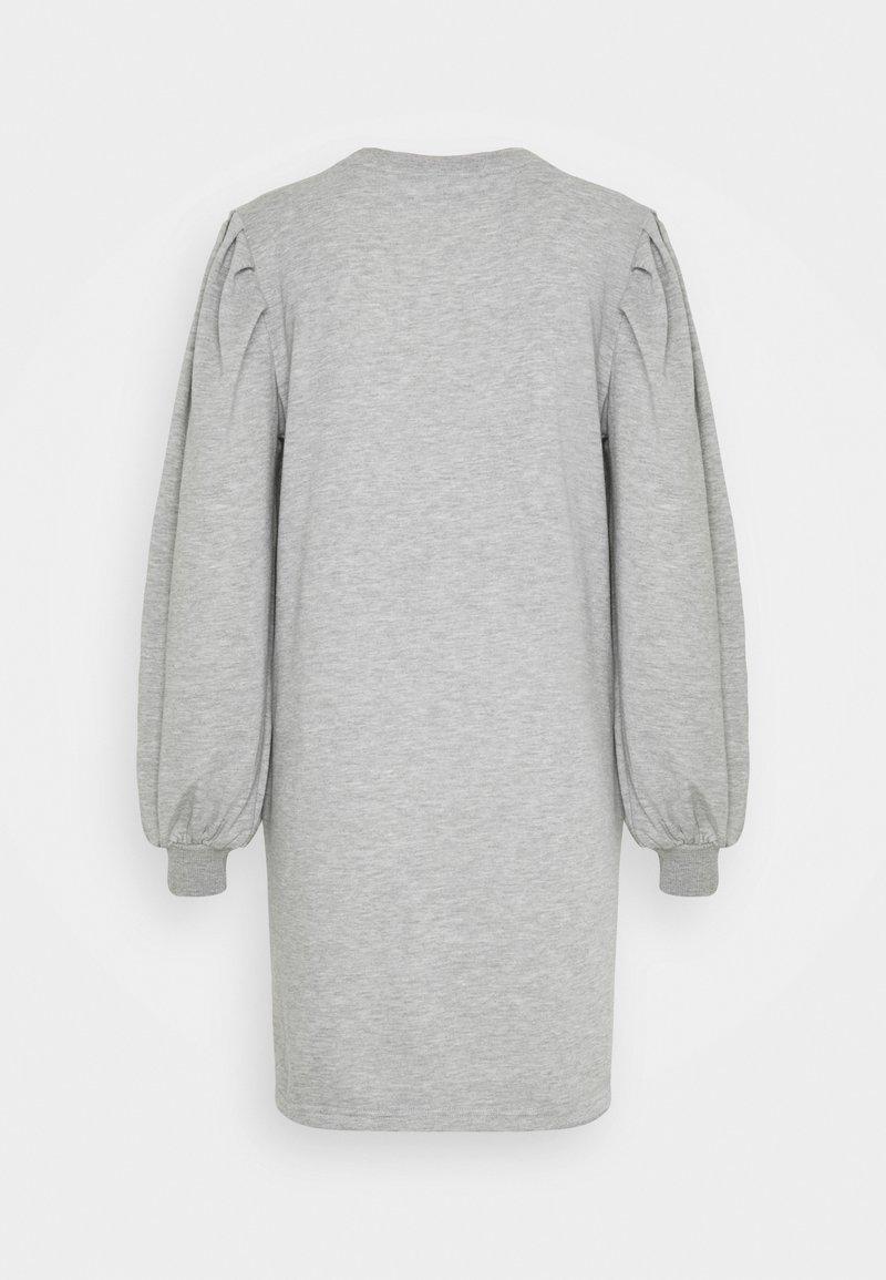 JDY JDYMATHILDE DRESS - Jerseykleid - light grey melange/hellgrau-meliert XdCL0P