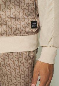 Sixth June - MONOGRAM TRACK JACKET - Training jacket - beige - 5
