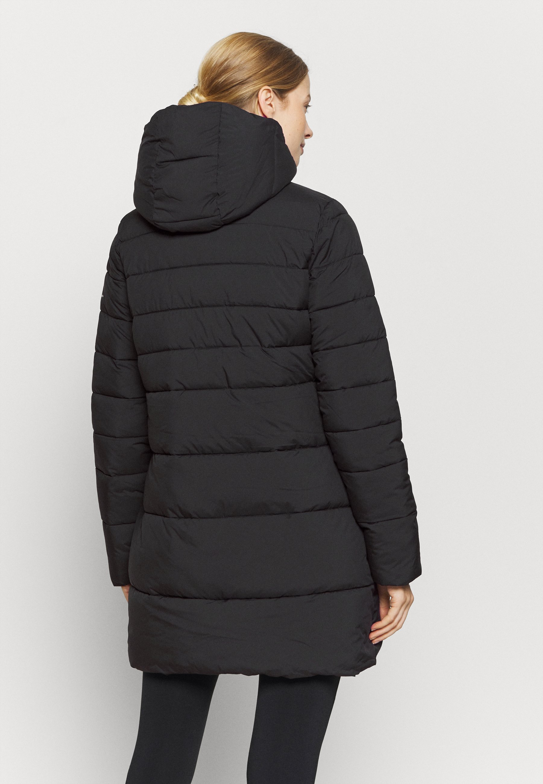 Champion HOODED JACKET LEGACY - Winter coat - black D7dlc