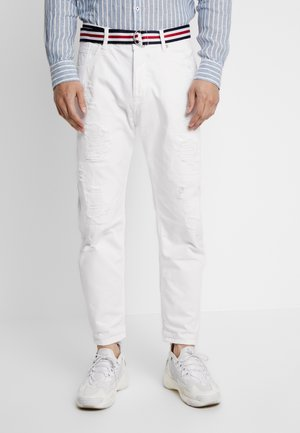 Džíny Straight Fit - white denim