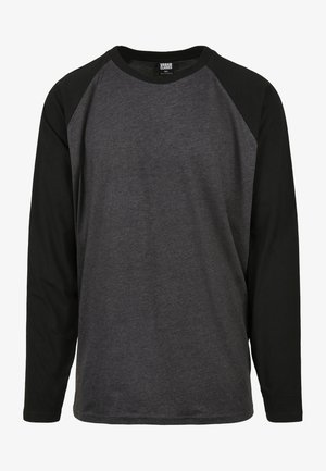 Maglietta a manica lunga - charcoal/black