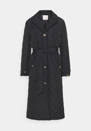 URBAN - Classic coat - black