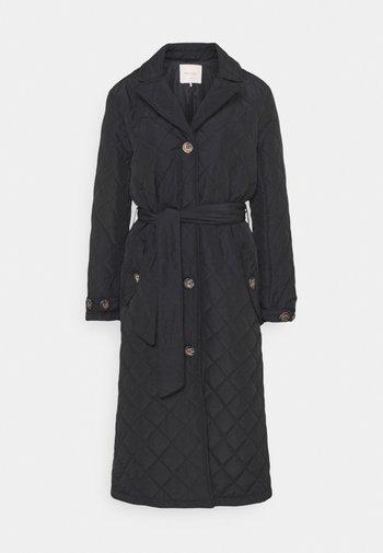 URBAN - Klasyczny płaszcz - black