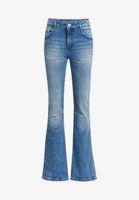 WE Fashion - Jeans a zampa - blue - 0