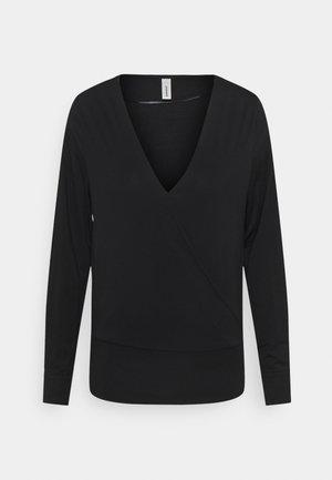 MARICA - Long sleeved top - black