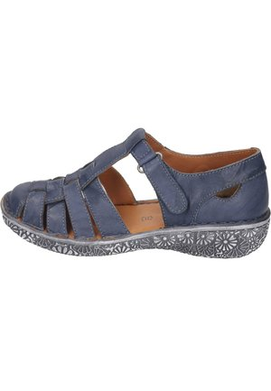 Walking sandals - denim