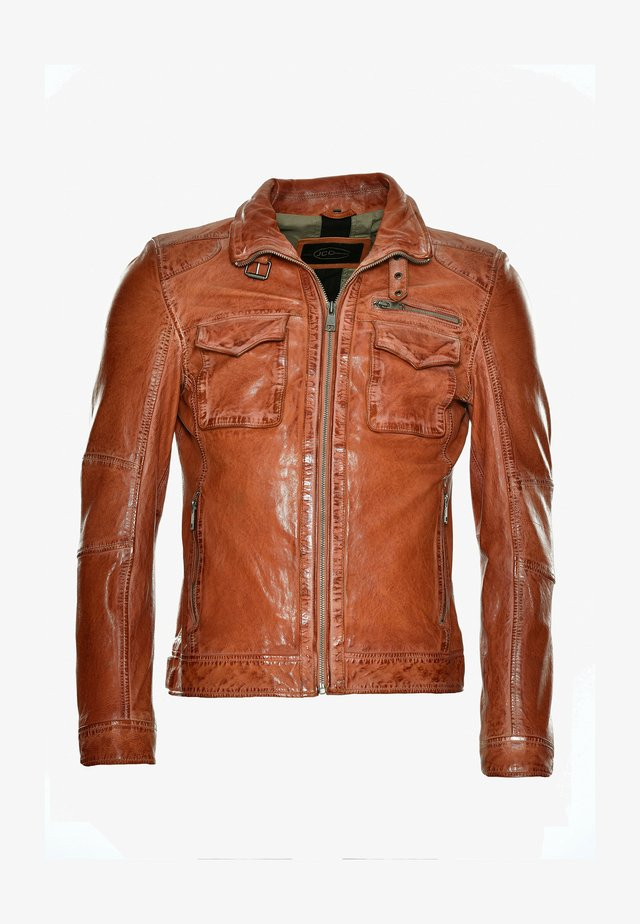 Leather jacket - oxy fire