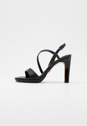 High Heel Sandalette - black