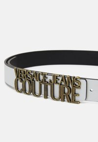 Versace Jeans Couture - LETTERING BUCKLE - Cintura - bianco ottico - 2