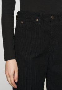 Lee - WIDE LEG - Trousers - black - 3