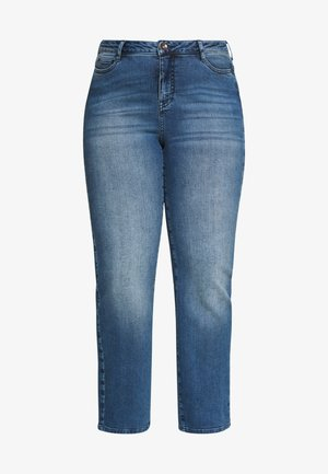 JRTENJUVA  - Straight leg jeans - medium blue denim