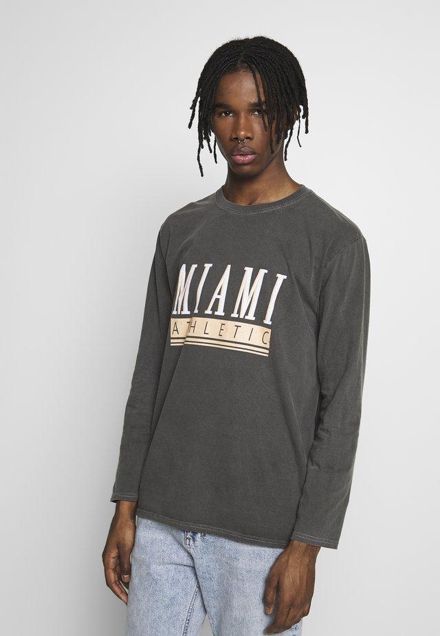 MIAMI - Long sleeved top - dark grey