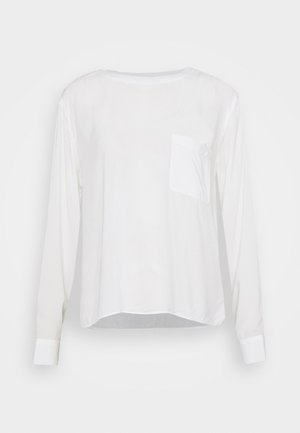 BLOUSE LONGSLEEVE - Long sleeved top - scandinavian white