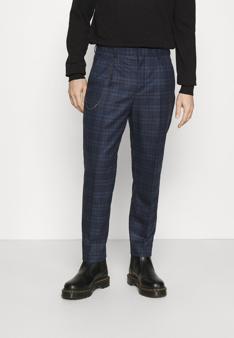 Shelby & Sons - MAYS TROUSER - Trousers - navy