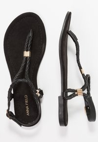 Anna Field - T-bar sandals - black - 3