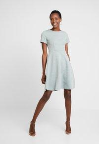 Anna Field - Day dress - silver blue - 0