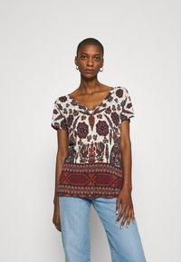 Desigual - BENIN - Camiseta estampada - offwhite - 0