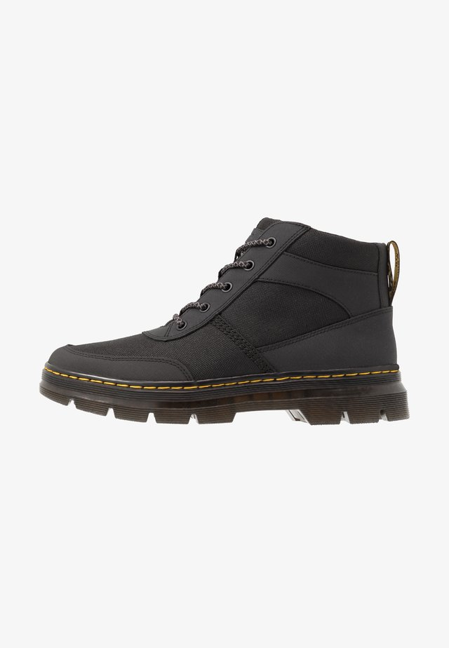 BONNY TECH - Bottines à lacets - black