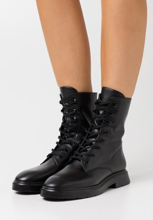 MACKENZIE - Lace-up ankle boots - black