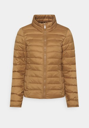 ONLNEWTAHOE QUILTED JACKET - Light jacket - toasted coconut