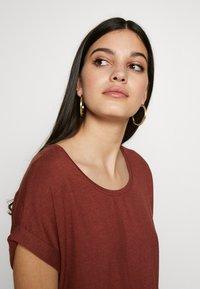 ONLY - ONLMOSTER ONECK - T-shirt basic - henna - 3