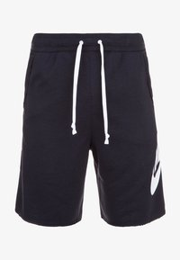 Nike Sportswear - M NSW HE FT ALUMNI - Shorts - black/white - 0