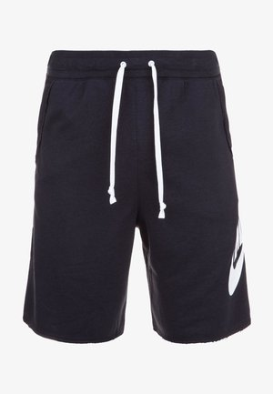 ALUMNI - Tracksuit bottoms - black/white