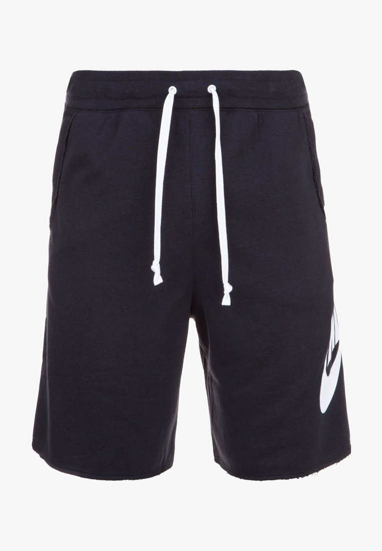 Nike Sportswear - M NSW HE FT ALUMNI - Shorts - black/white