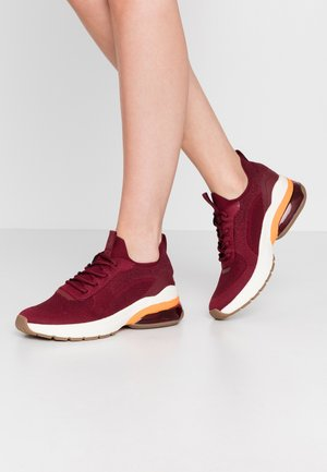 LACE UP  - Trainers - dark cherry