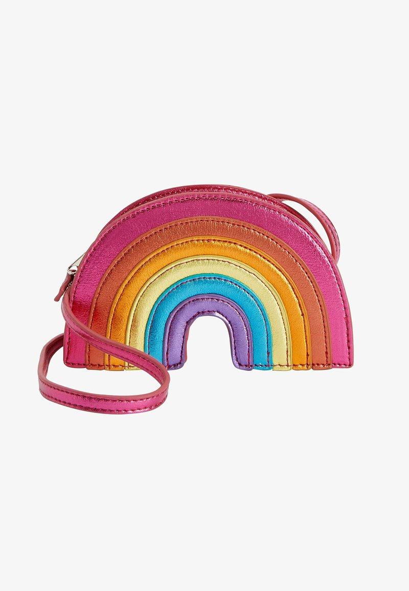 Next - RAINBOW - Across body bag - pink