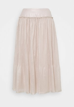 Pleated skirt - sweet beige