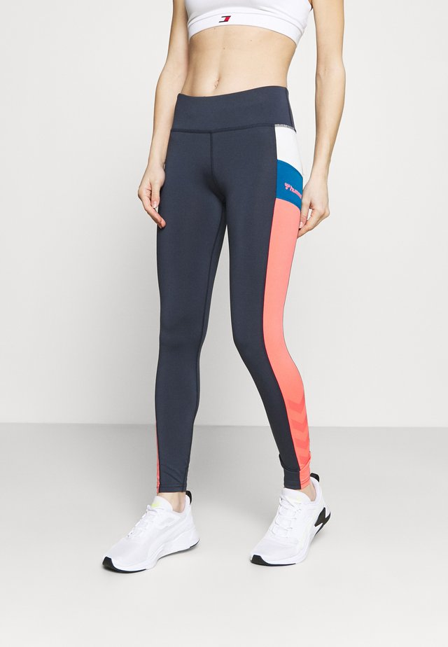 SHARNI MID WAIST - Collant - blue nights