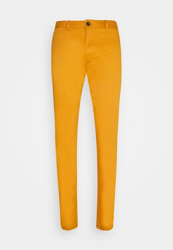 MOTT CLASSIC  - Chino kalhoty - rust