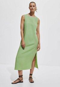 Massimo Dutti - Maxi dress - green - 0