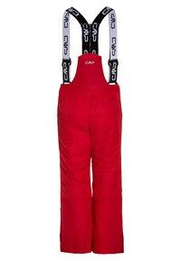 CMP - SALOPETTE UNISEX - Zimní kalhoty - red - 1