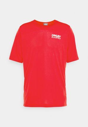CASCADE TRAIL TEE - Print T-shirt - red line