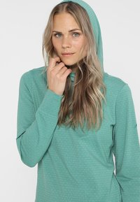 Vaude - WOMENS TUENNO - Long sleeved top - nickel green - 4
