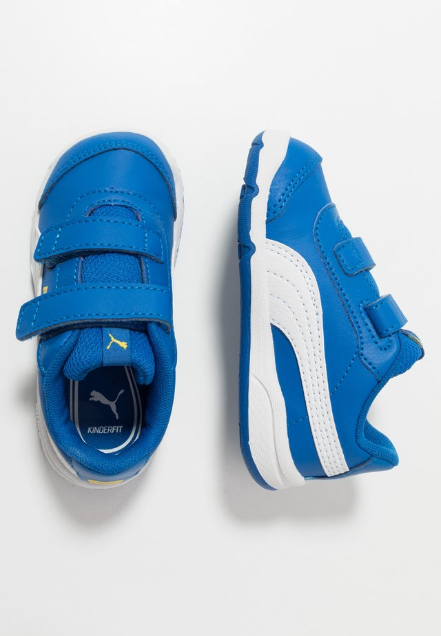 STEPFLEEX 2 - Zapatillas de entrenamiento - lapis blue/white/dandelion