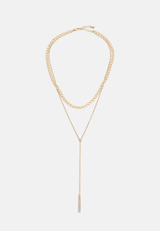 PCKAYSA COMBI NECKLACE - Necklace - gold-coloured