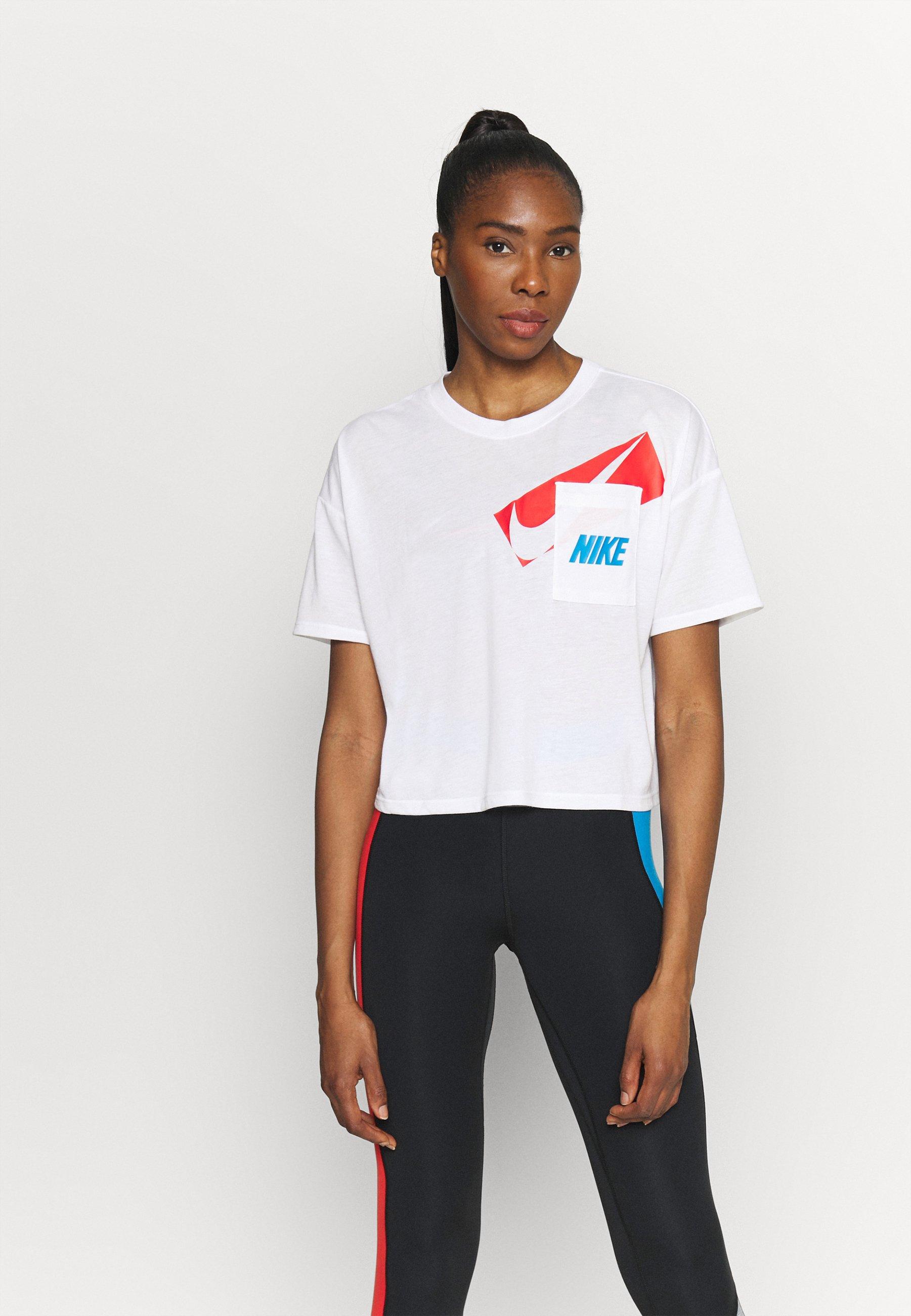 Women DRY CROP - Print T-shirt