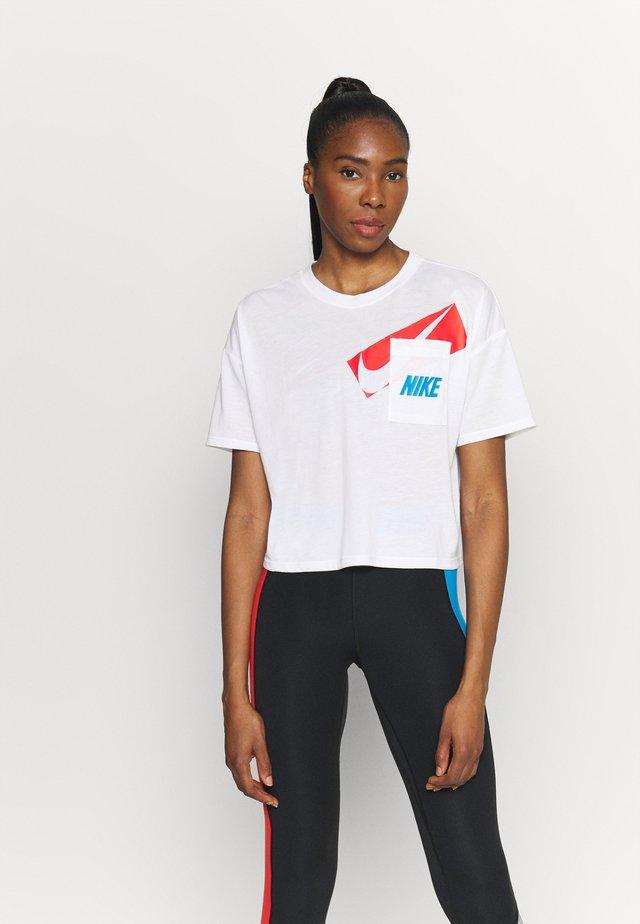 DRY CROP - T-shirt print - white