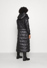 G-Star - EXTRA LONG HOODED PADDED PUFFER  - Winter coat - dk black - 2