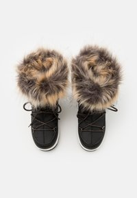 Moon Boot - JR GIRL MONACO LOW WP - Winter boots - black/copper - 3